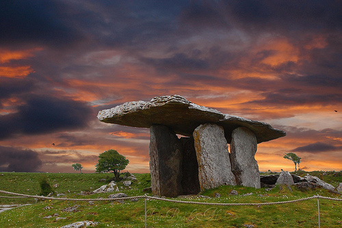 Dolmen at the Burren