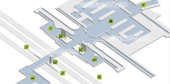 Dublin Airport Maps - mydiscoverireland.com on