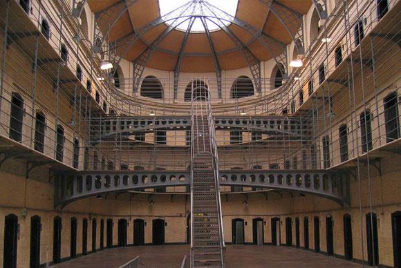 Courtyard at Kilmainham Jail