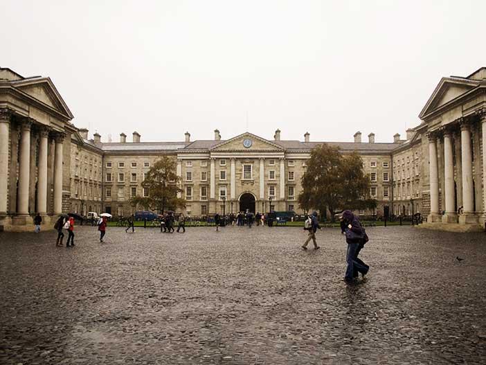 Rain in Dublin